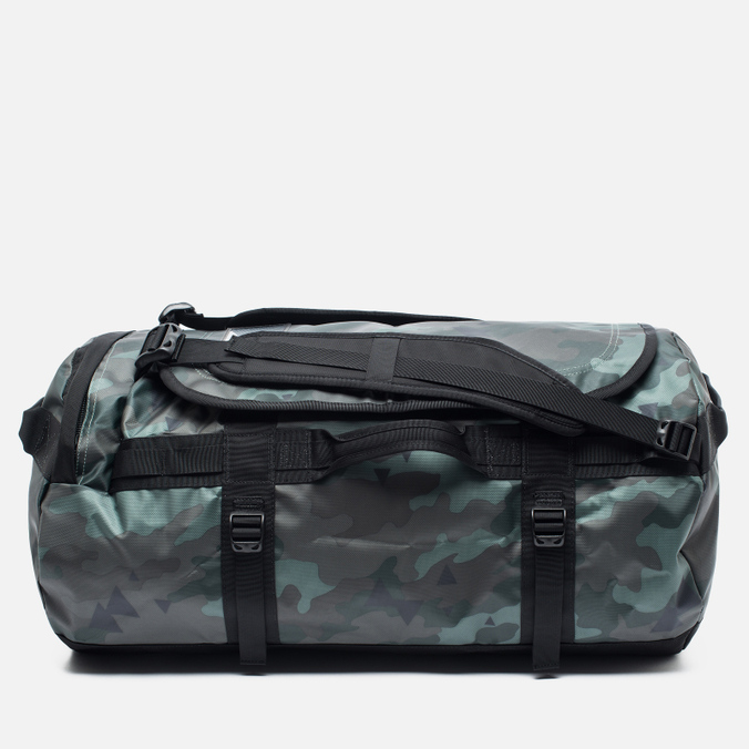 Дорожная сумка The North Face Base Camp Duffel 72L Camo Print/Black