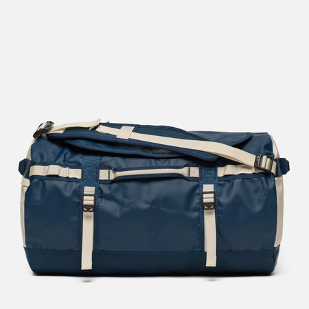 Дорожная сумка The North Face Base Camp Duffel S Blue Wing Teal/Vintage White