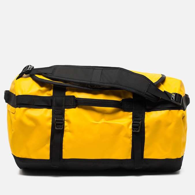 Дорожная сумка The North Face Base Camp Duffel S Summit Gold Black