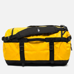 Дорожная сумка The North Face Base Camp Duffel S Summit Gold Black фото- 3