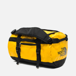 Дорожная сумка The North Face Base Camp Duffel XS Summit Gold Black фото- 1