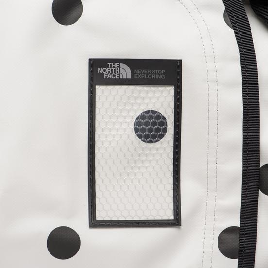 Дорожная сумка The North Face IC Base Camp Duffel M Vapour Grey/Dot Print