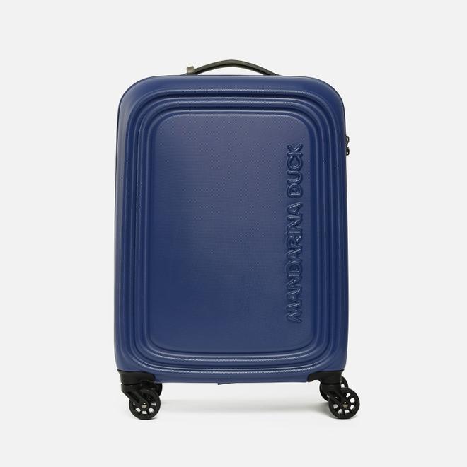 Дорожный чемодан Mandarina Duck Logoduck Trolley V54 Mazarine Blue