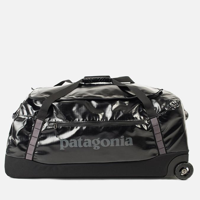 Patagonia Black Hole Whelled Duffel Travel Bag Black