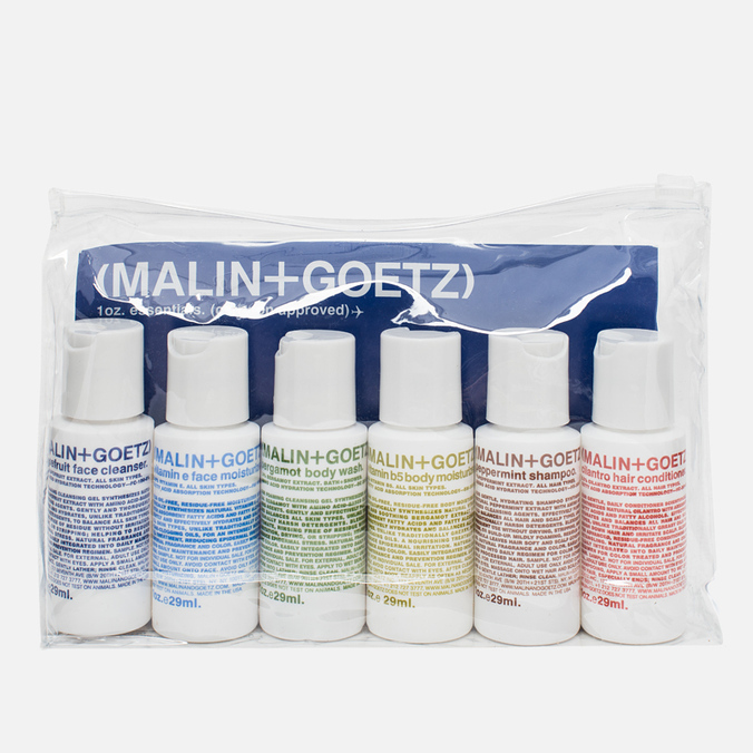 Дорожный набор Malin+Goetz Essential Kit 6x29ml