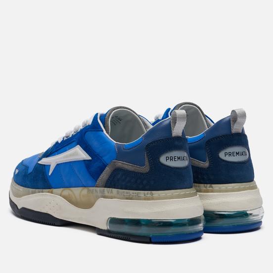 Мужские кроссовки Premiata Drake 084 Blue