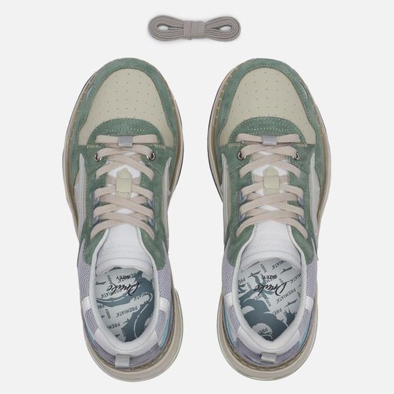 Женские кроссовки Premiata Drake-d 087 Cream White/Green