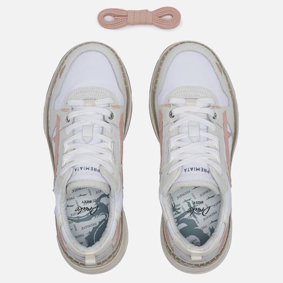 Женские кроссовки Premiata Drake-d 090 White