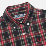 Женское платье Fred Perry Laurel Button Down Tartan Black фото- 1
