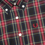 Женское платье Fred Perry Laurel Button Down Tartan Black фото- 2