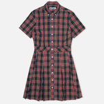 Женское платье Fred Perry Laurel Button Down Tartan Black фото- 0
