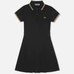 Женское платье Fred Perry Laurel Pleated Pique Tennis Black/Champagne фото- 0