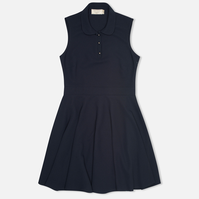 Женское платье Maison Kitsune Crepe Ella Dark Navy