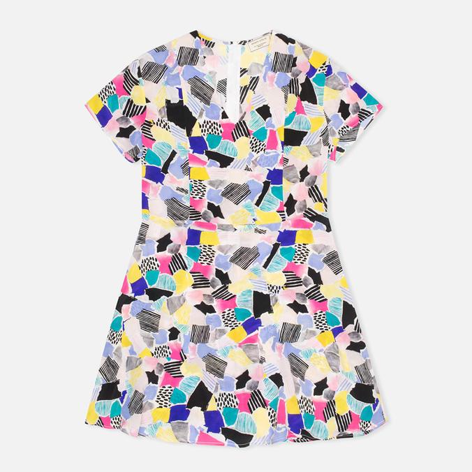 Женское платье Maison Kitsune Cut Paper Mary Multicolour
