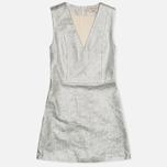Женское платье Maison Kitsune Flore Silver фото- 0