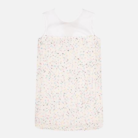 Maison Kitsune Multicolored Ellie Dress White