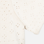 Женское платье Maison Kitsune Openwork Ecru фото- 3