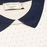 Женское платье Maison Kitsune Openwork Ecru фото- 2