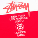 Stussy Half Tour Dress Red photo- 2