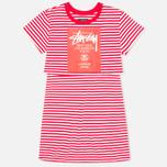 Женское платье Stussy WT Shirt Red фото- 0