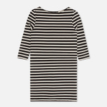 Женское платье YMC Breton Stripe Black/Cream фото- 0