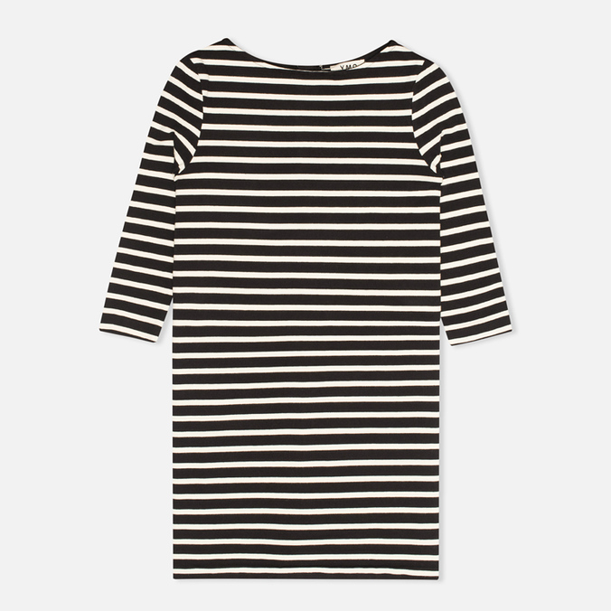 Женское платье YMC Breton Stripe Black/Cream
