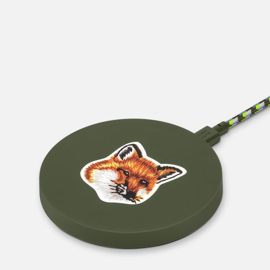 Беспроводное зарядное устройство Native Union x Maison Kitsune Drop Wireless Charger Green