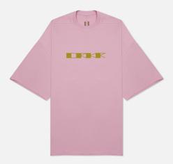 Мужская футболка Rick Owens DRKSHDW Gethsemane Tommy DRKR Dirty Pink/Acid