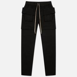 Мужские брюки Rick Owens DRKSHDW Gethsemane Creatch Cargo Drawstring Black