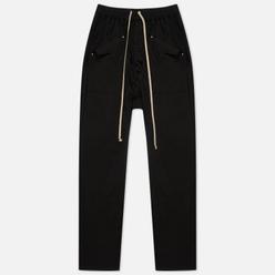 Мужские брюки Rick Owens DRKSHDW Gethsemane Cargo Drawstring Long Black