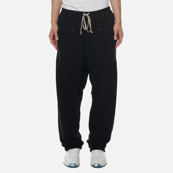 Мужские брюки Rick Owens DRKSHDW Performa Cargo Drawstring Long Black