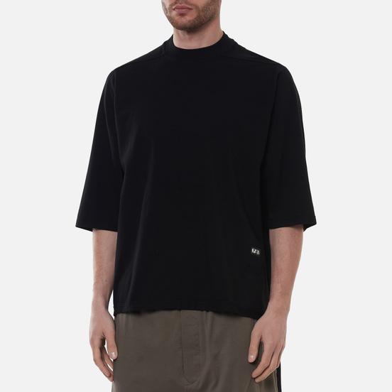 Мужская футболка Rick Owens DRKSHDW Phlegethon Jumbo Cropped Black