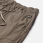 Мужские брюки Rick Owens DRKSHDW Phlegethon Cargo Drawstring Long Dust фото - 1