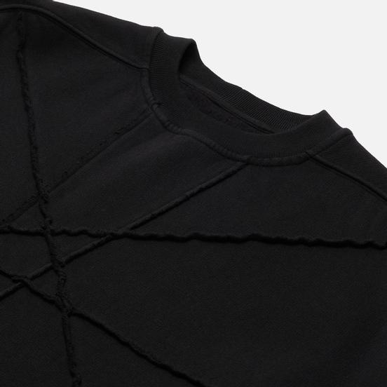 Мужская толстовка Rick Owens DRKSHDW Phlegethon Crater Tunic Black