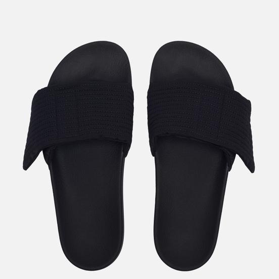 Мужские сланцы Rick Owens DRKSHDW Phlegethon Creatch Slide Black/Black