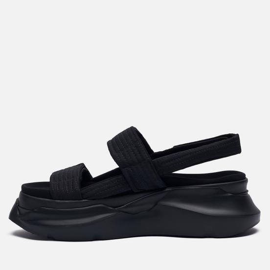 Мужские сандалии Rick Owens DRKSHDW Phlegethon Abstract Black/Black