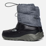 Мужские дутики The North Face Nuptse III Melange/Black фото- 2