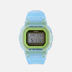 Наручные часы CASIO G-SHOCK DW-5600LS-2ER Skeleton Series Light Blue/Green