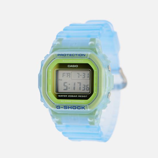 Наручные часы CASIO G-SHOCK DW-5600LS-2ER Skeleton Series Light Blue/Green