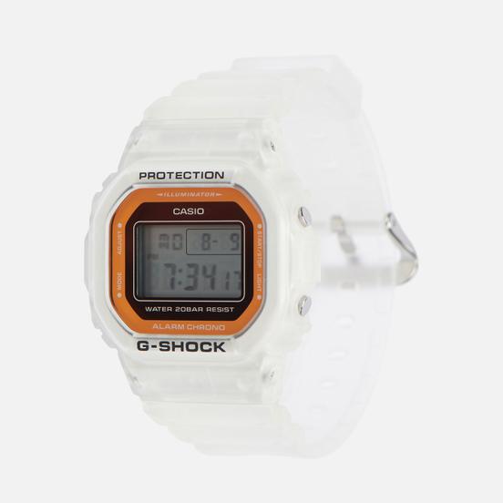Наручные часы CASIO G-SHOCK DW-5600LS-7ER Clear/Orange