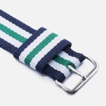 Ремешок для часов Daniel Wellington Nottingham 20mm Navy/Green фото- 2