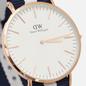 Наручные часы Daniel Wellington Classic Glasgow Blue/White/Rose Gold/Eggshell White фото - 2