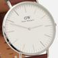 Наручные часы Daniel Wellington Classic St Mawes Brown/Silver/Eggshell White фото - 2