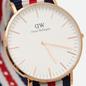 Наручные часы Daniel Wellington Classic Canterbury Blue/Red/White/Rose Gold/Eggshell White фото - 2