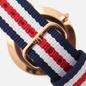 Наручные часы Daniel Wellington Classic Canterbury Blue/Red/White/Rose Gold/Eggshell White фото - 3