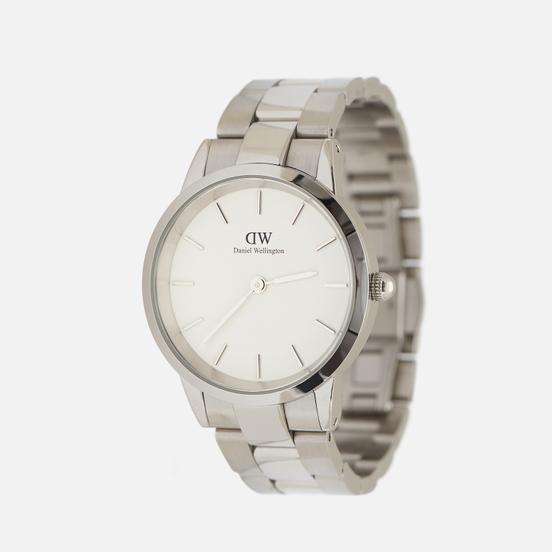 Наручные часы Daniel Wellington Iconic Link Silver/Silver/Eggshell White