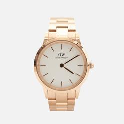 Наручные часы Daniel Wellington Iconic Link Rose Gold/Rose Gold/Eggshell White