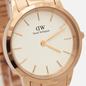 Наручные часы Daniel Wellington Iconic Link Rose Gold/Rose Gold/Eggshell White фото - 2