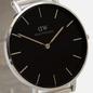 Наручные часы Daniel Wellington Petite Sterling Silver/Black фото - 2