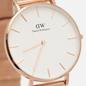 Наручные часы Daniel Wellington Petite Melrose Rose Gold/Rose Gold/White фото - 2